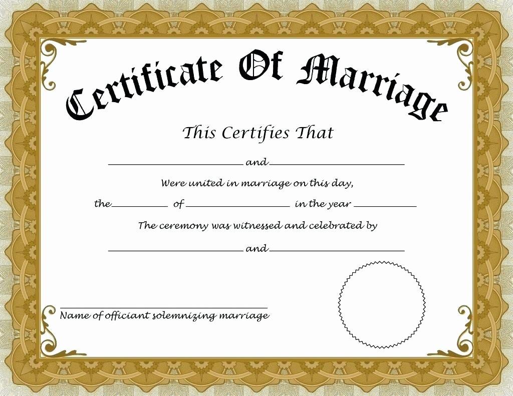 Keepsake Marriage Certificate Template Unique How to Apply for Marriage Certificate In India – Details