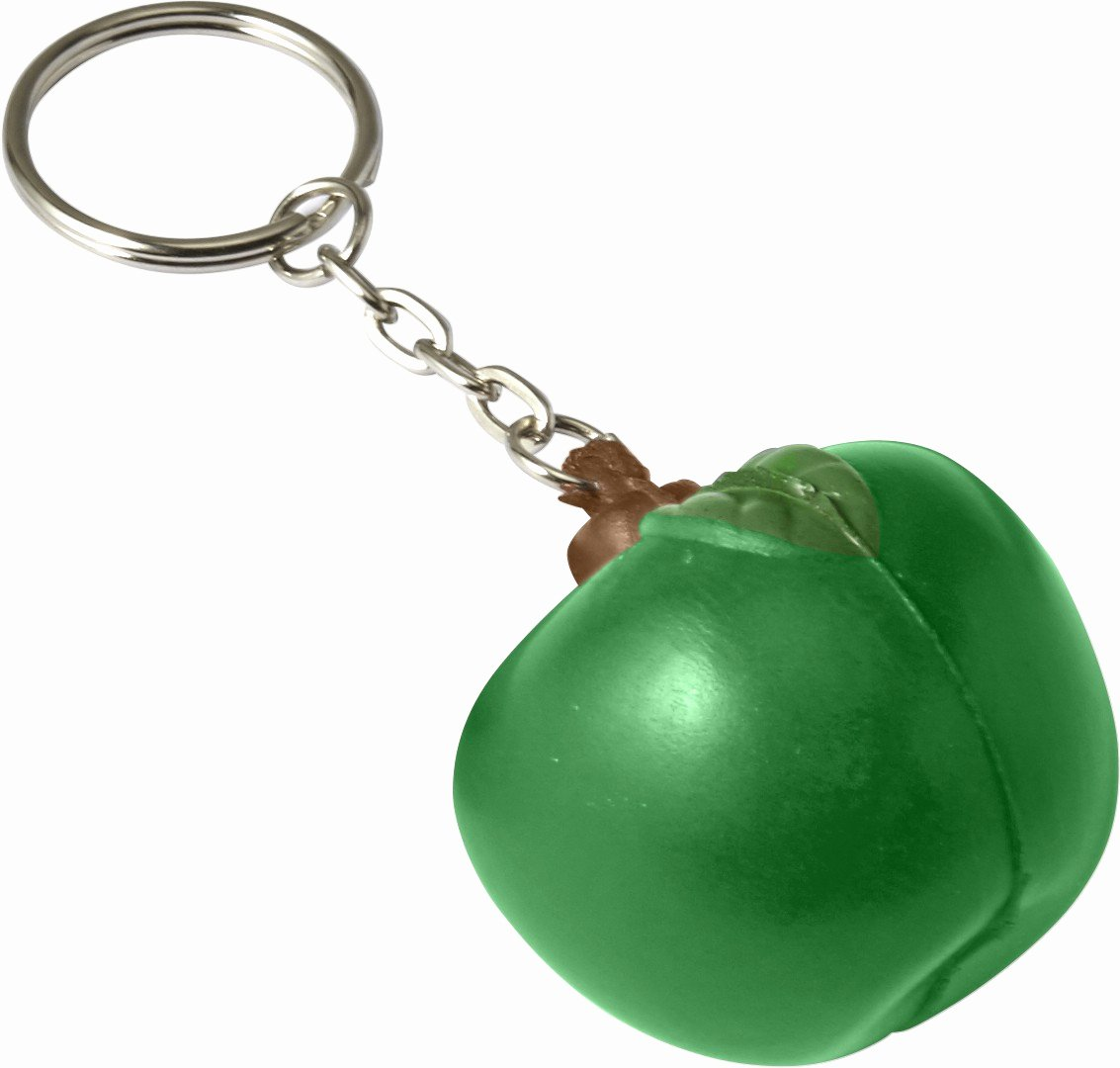 Key Shaped Key Holder Awesome Key Holder Fruit Shaped Green Plastic Keychain