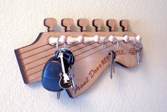 Key Shaped Key Holder Fresh Guitar Rack Guitar Shaped Key Rack Fender Key Holder