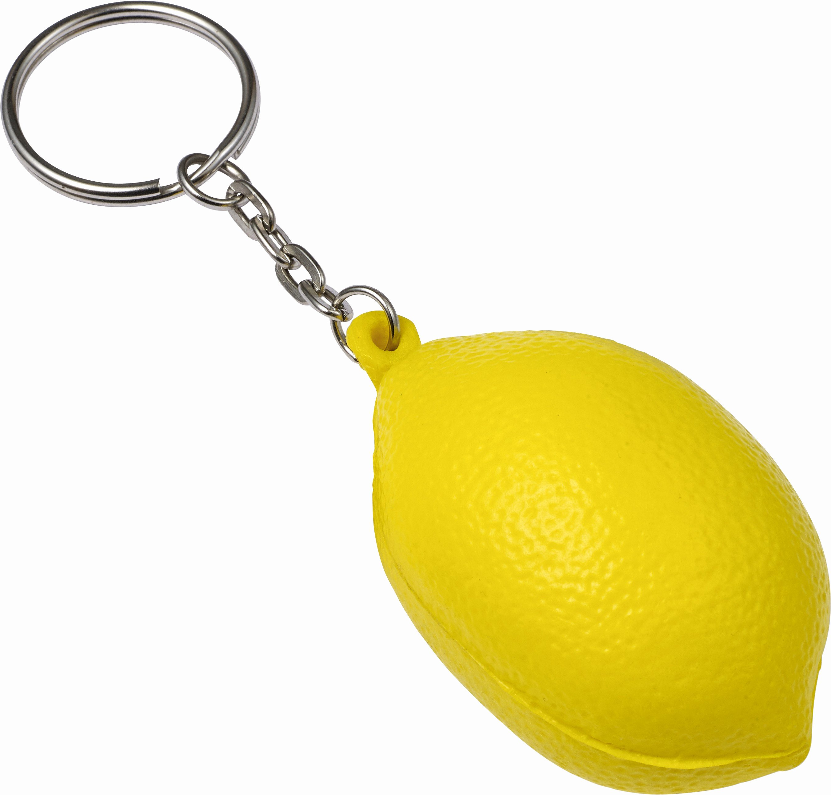 Key Shaped Key Holder Fresh Key Holder Fruit Shaped Yellow Plastic Keychain