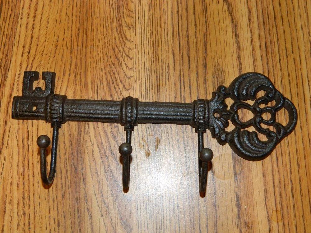 Key Shaped Key Holder Inspirational Rustic Iron Victorian Style Key Shaped Key Hook