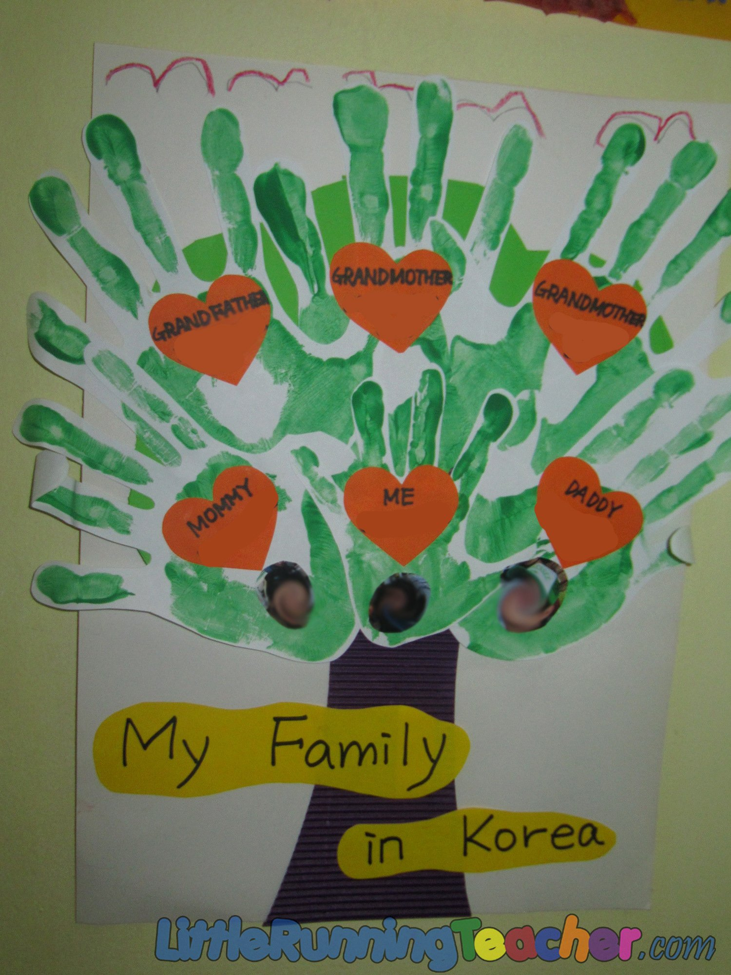 Kindergarten Family Tree Template Elegant Family Tree In Preschool