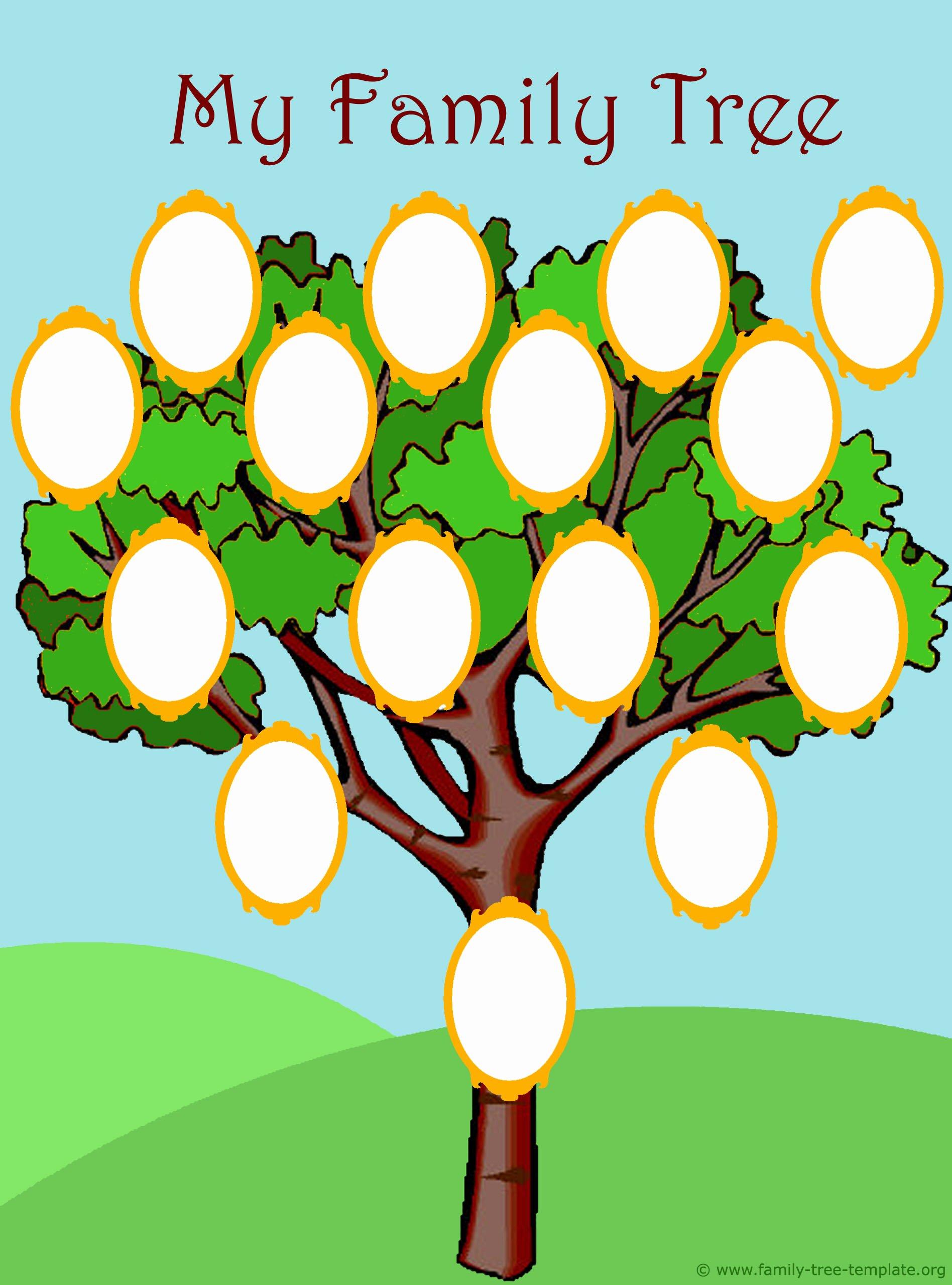 Kindergarten Family Tree Template Lovely Family Tree Freebies – Gianna the Great