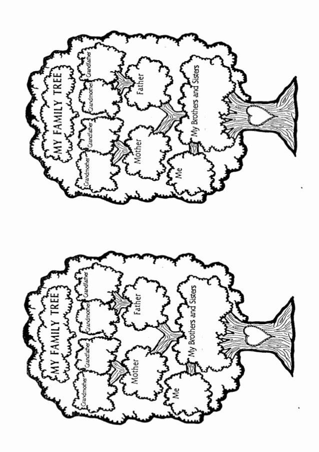 Kindergarten Family Tree Template Lovely Worksheet Family Tree