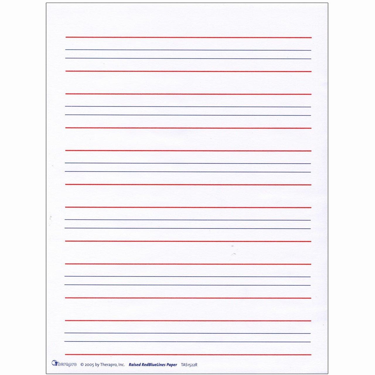 Kindergarten Letter Writing Paper Elegant Maxiaids