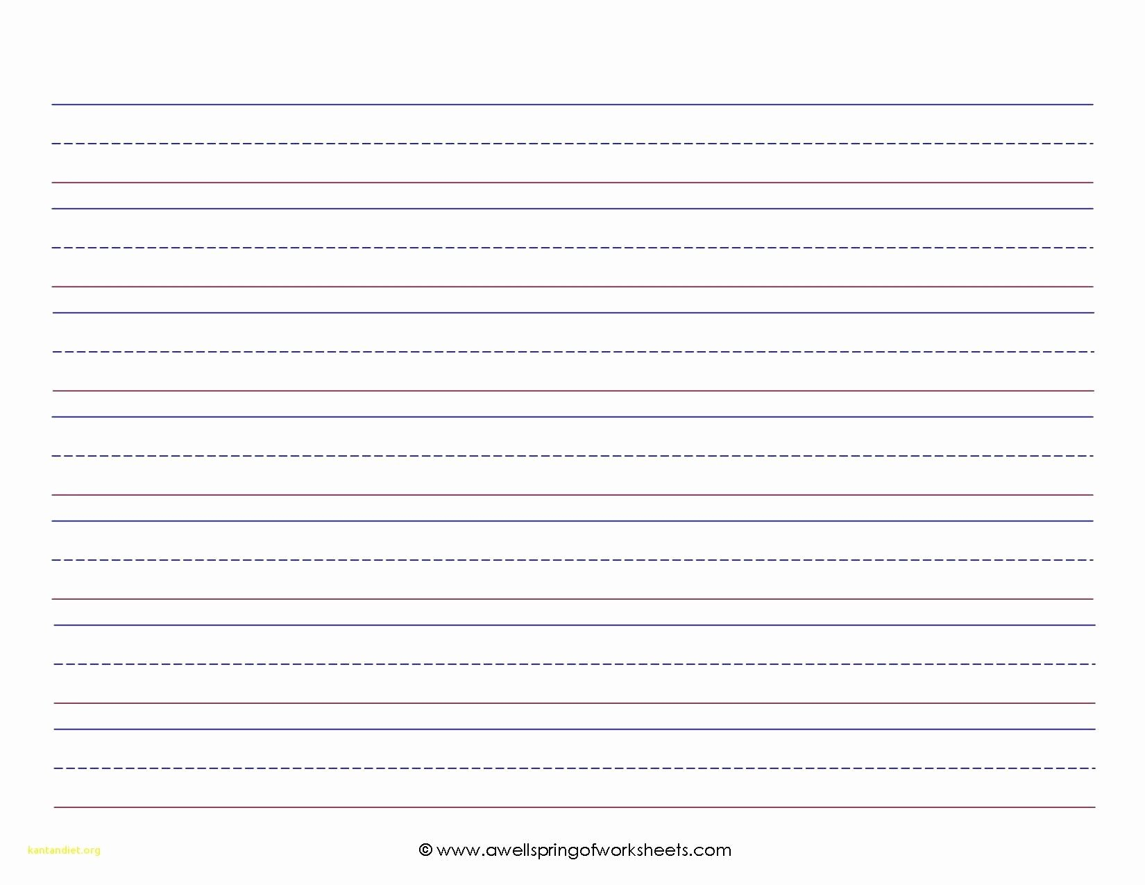 Kindergarten Letter Writing Paper Lovely Beautiful Kindergarten Lined Paper Template Kindergarten