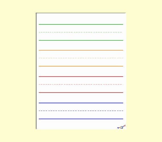 Kindergarten Paper with Lines Best Of Digital Lined Paper for Preschool Kindergarten by Kidznote