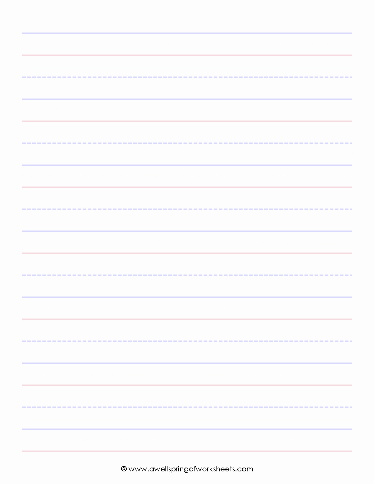 Kindergarten Paper with Lines Elegant Worksheets by Subject Writing