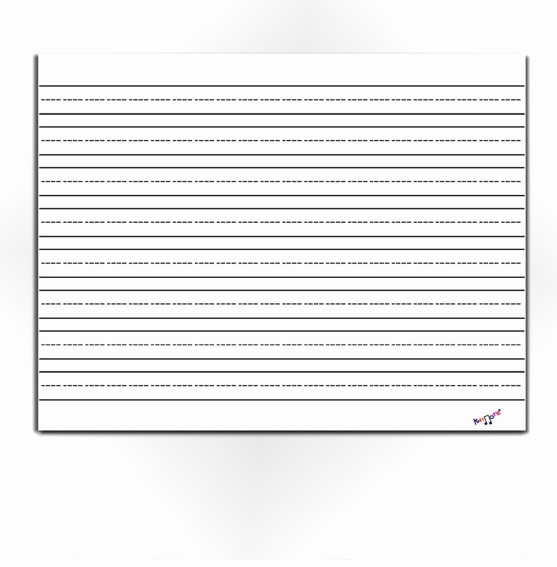 Kindergarten Paper with Lines Unique Lined Paper for Kids Blank Lined Paper Preschool