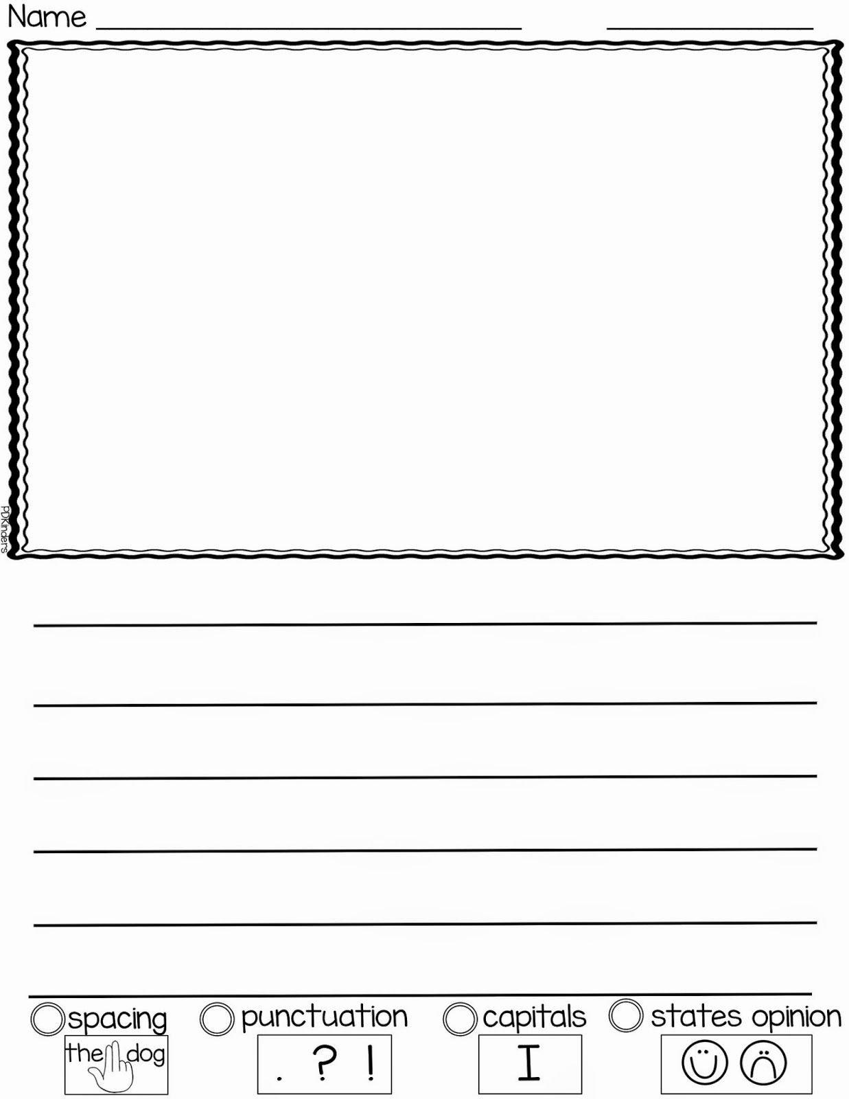 Kindergarten Writing Paper Printable Best Of Pin by Jennifer Hoelscher On School