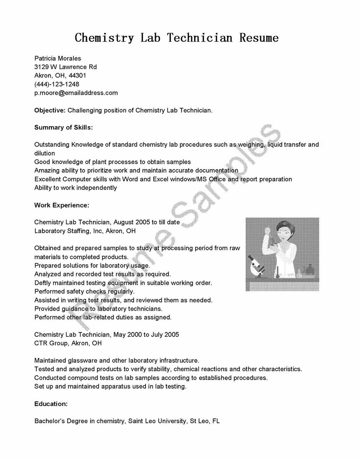 Lab Technician Cover Letter Best Of Cover Letter Chemical Lab Technician Longislandyoga