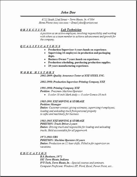 Lab Technician Cover Letter Luxury Lab Technician Resume Occupational Examples Samples Free