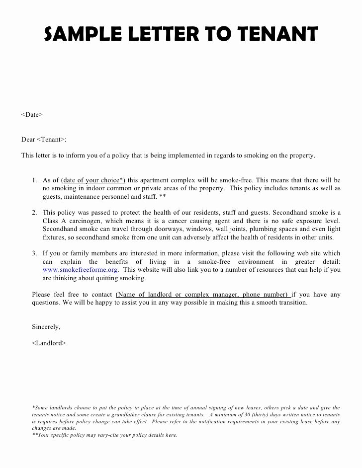 Landlord to Tenant Sample Letters Inspirational Letter Of Reference for Tenant Sample & Templates