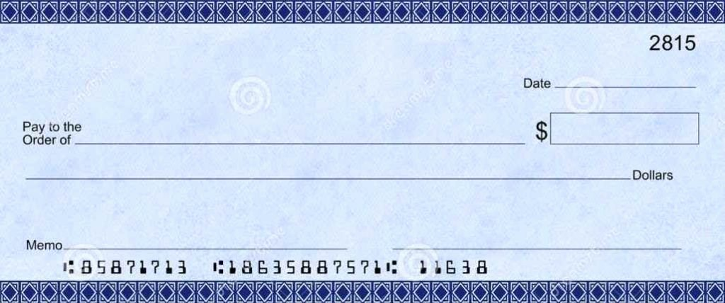 Large Blank Check Template Elegant Blank Check Template Template In 2019
