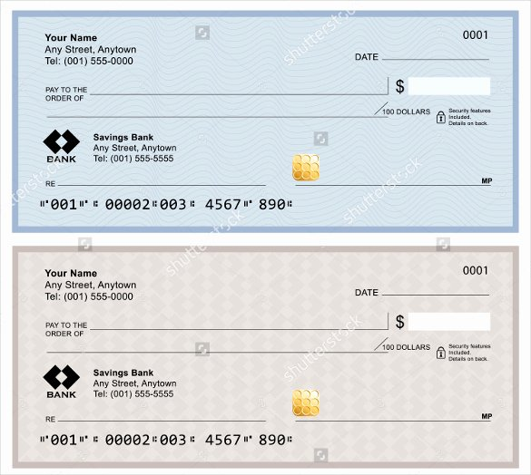 Large Blank Check Template Inspirational Blank Check Template – 30 Free Word Psd Pdf & Vector