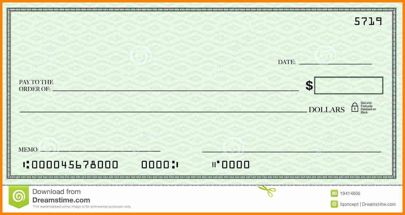 Large Blank Check Template Inspirational Check Template Ivoiregion