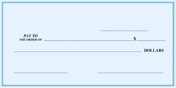 Large Blank Check Template Lovely Big Checks Presentation Checks