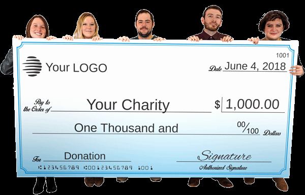 Large Blank Check Template New Big Check Printing