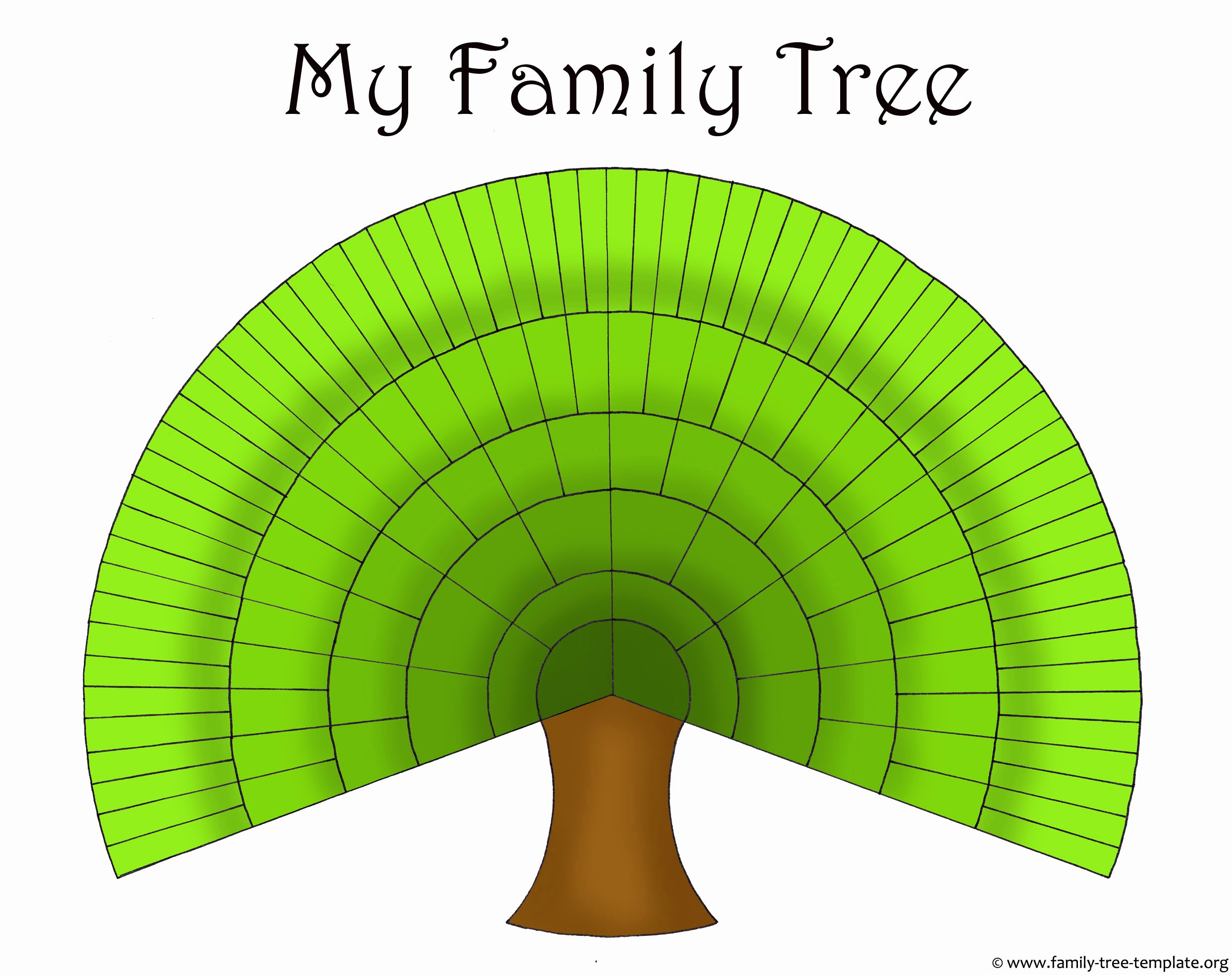 Large Family Tree Templates Best Of Blank Family Trees Templates and Free Genealogy Graphics