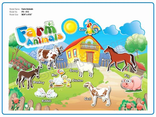 Large Farm Animal Cutouts Awesome Farm Animals Cutout Farm Animals Cutout Exporter