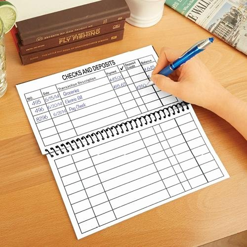 Large Print Check Register Printable Best Of Personal Check Register Amazon
