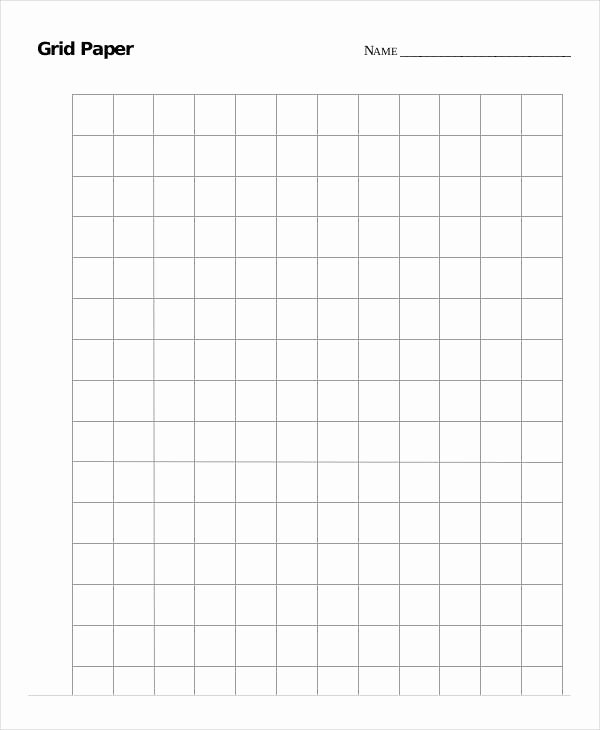 Large Print Graph Paper Best Of Printable Grid Paper Template 12 Free Pdf Documents