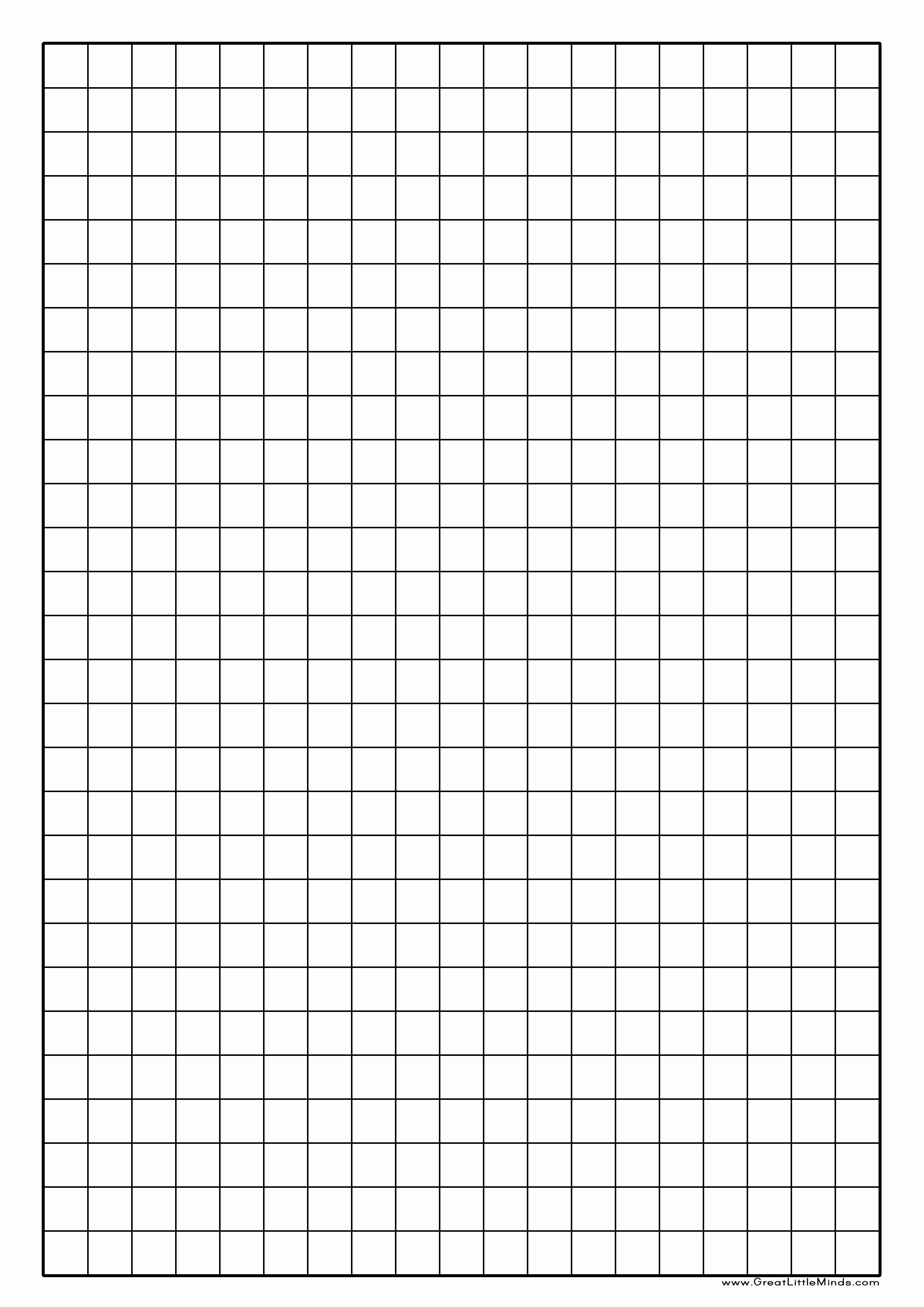 Large Print Graph Paper Elegant Graph Paper Printable