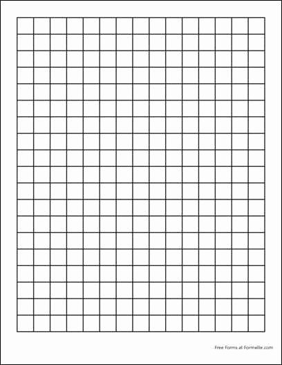 Large Print Graph Paper Fresh Free Graph Paper 2 Squares Per Inch Heavy Black From