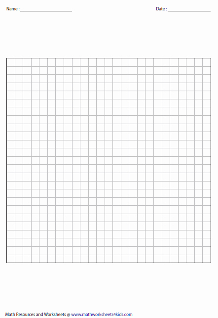 Large Print Graph Paper Inspirational Printable Graph Papers and Grids