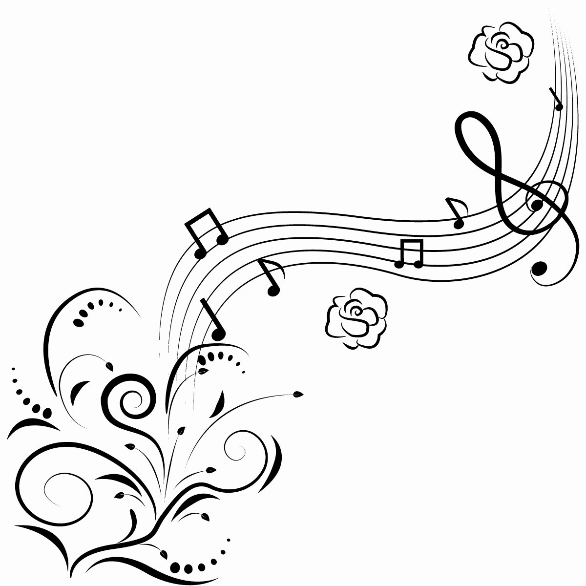 Large Printable Music Notes Beautiful Free Printable Music Note Coloring Pages for Kids