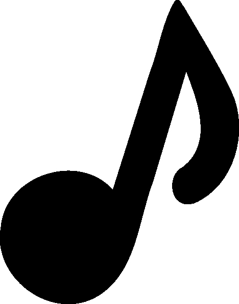 Large Printable Music Notes Inspirational Music Note Clip Art at Clker Vector Clip Art Online