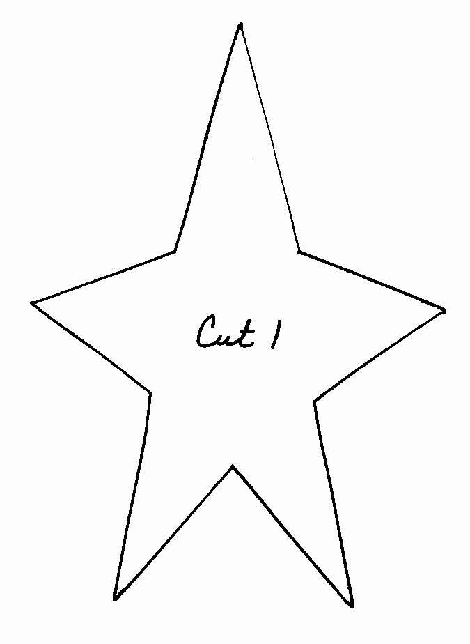 Large Star Template Printable Awesome 49 Best Images About Primitive Patterns On Pinterest