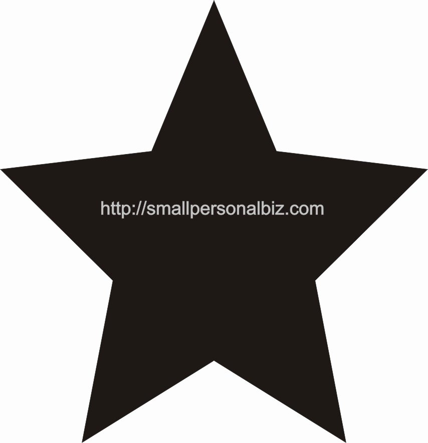 Large Star Template Printable Awesome Star Template Printable Cliparts