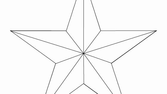 Large Star Template Printable Beautiful Make Your Own Barn Star Template