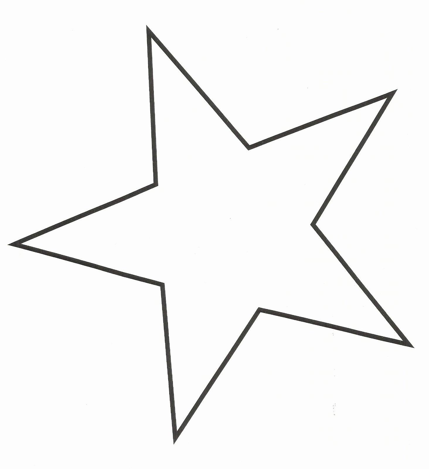 Large Star Template Printable Elegant Star Template Printable Cliparts