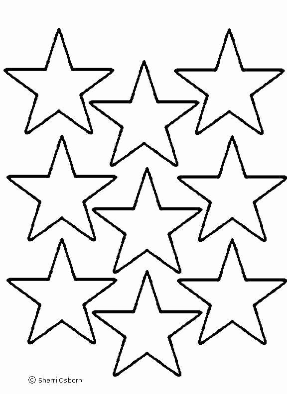 Large Star Template Printable Unique Star Template to Print Cliparts
