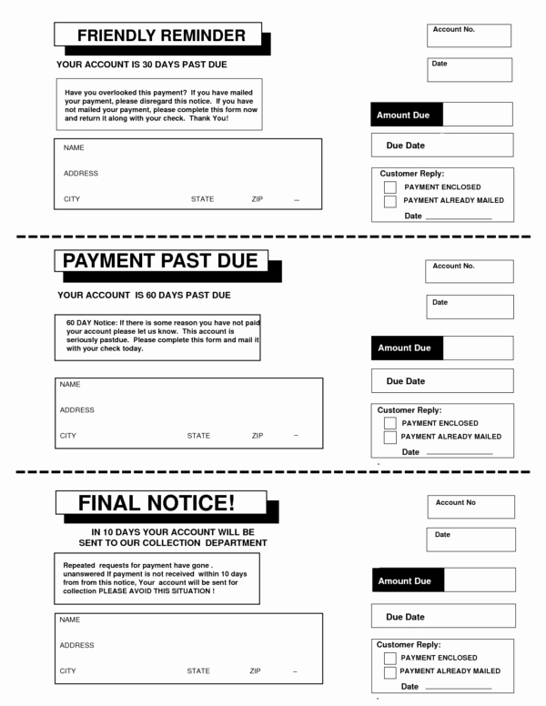 Late Payment Notice Template Fresh Late Payment Payment Due Notice Letter Template Violeet