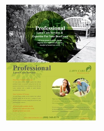Lawn Service Flyer Template Inspirational 21 Best Images About A5 Flyers On Pinterest