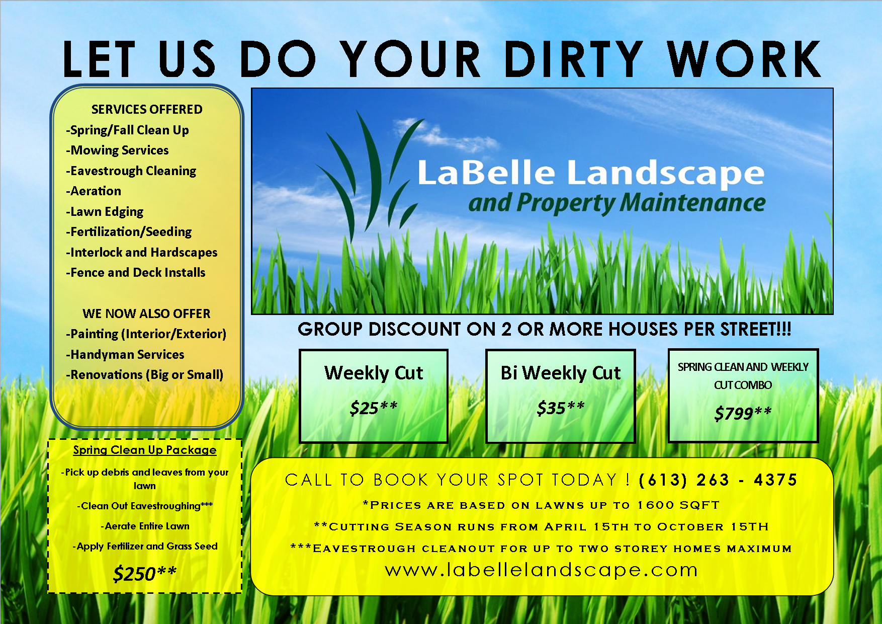 Lawn Service Flyer Template Luxury Lawn Care Flyer Free Template Flyer Templates