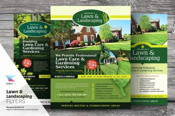 Lawn Service Flyer Template New 20 Lawn Care Flyers Psd Vector Eps Jpg Download
