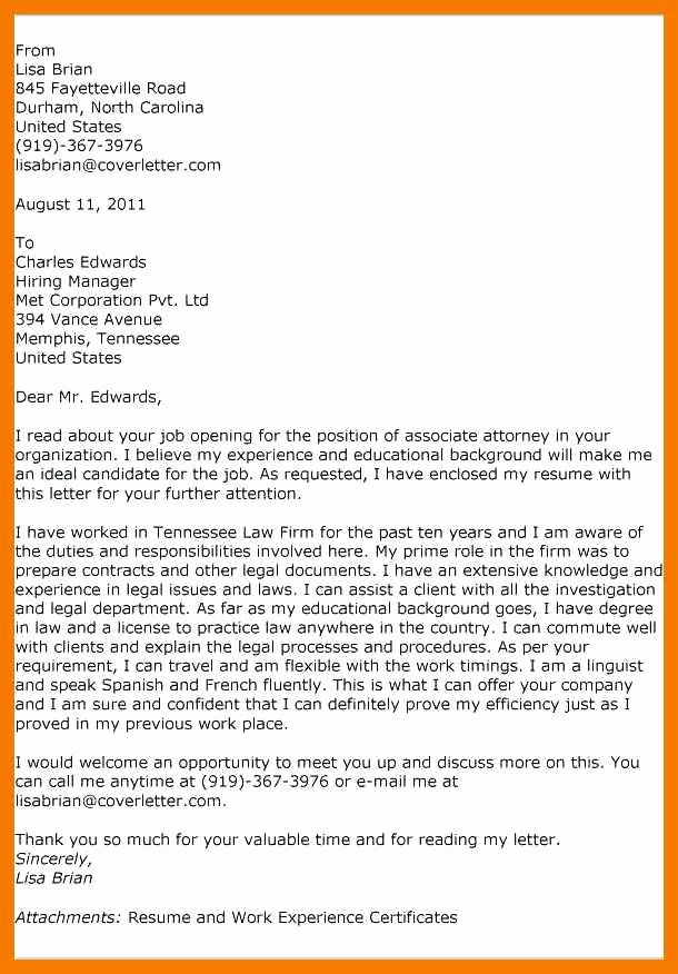 Legal Secretary Cover Letter Samples Awesome 9 10 Legal Secretary Covering Letter