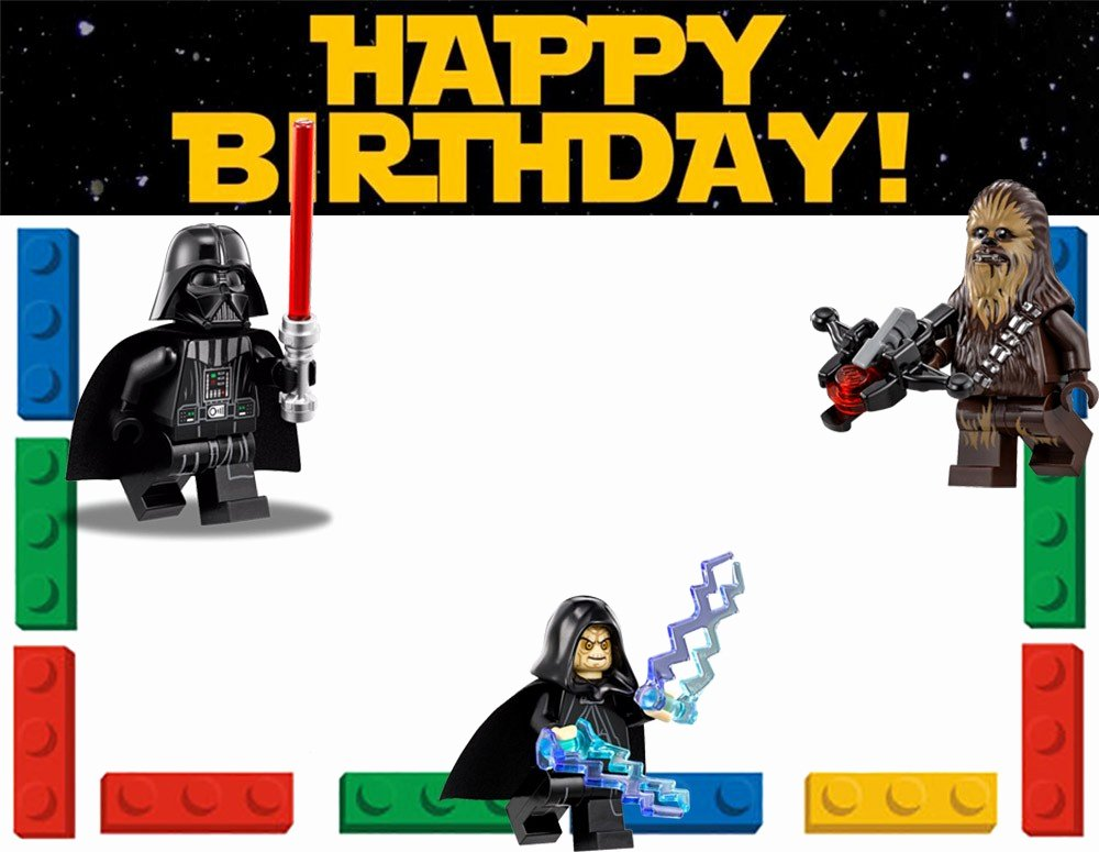 Lego Star Wars Birthday Invitations Elegant Free Printable Lego Invitation Templates