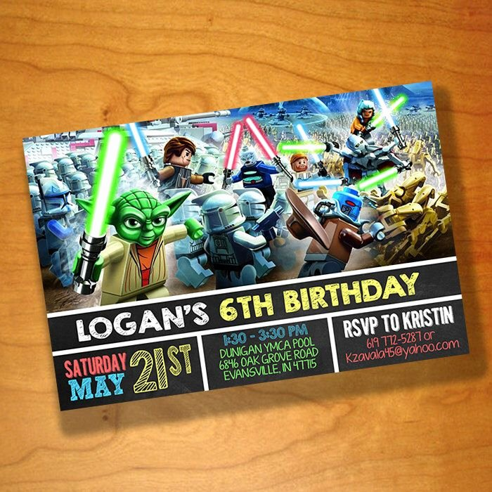 Lego Star Wars Birthday Invitations Fresh Pin by Shelley Kozlowski On 5th Birthday Ideas