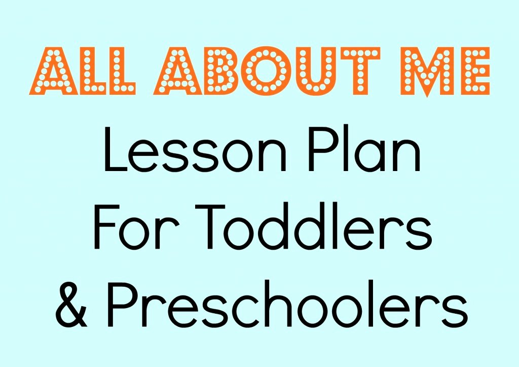 Lessons Plans for toddlers Best Of tot School All About Me Making Time for Mommy