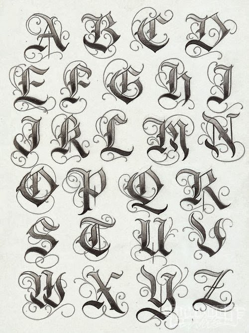 Letter Fonts for Tattoos Awesome Tattoo Lettering Designer Tattoo Fonts for Tattoo