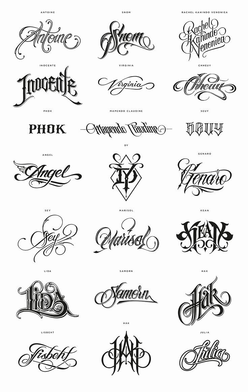 Letter Fonts for Tattoos Lovely Best 25 Tattoo Lettering Fonts Ideas On Pinterest