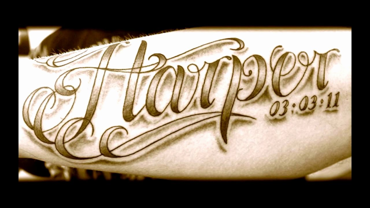 Letter Fonts for Tattoos Lovely Tattoo Fonts Best Tattoo Lettering Ideas