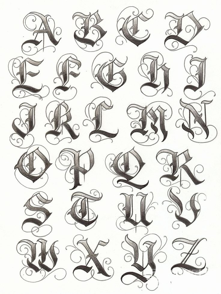 Letter Fonts for Tattoos Luxury 17 Best Images About Gothic Lettering Fonts