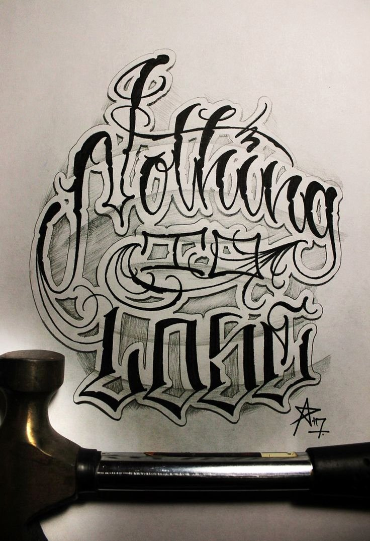 Letter Fonts for Tattoos New 17 Best Ideas About Tattoo Lettering Styles On Pinterest