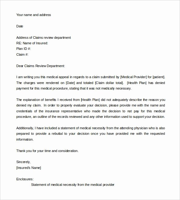 Letter Of Appeal Sample Best Of How to Write An Appeal Letter Quora